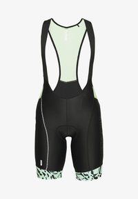 ONLY Play - ONPPERFORMANCE BIKE BIB - Leggings - black/green ash - 4