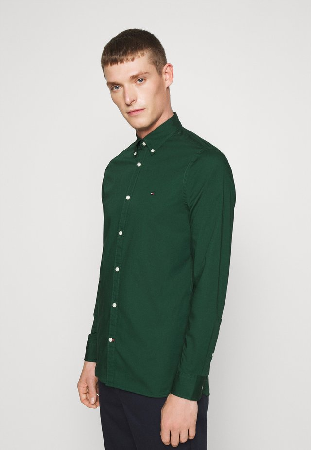 SLIM STRETCH - Shirt - green