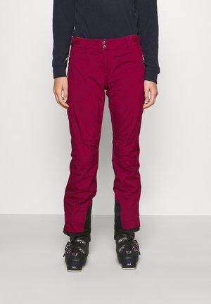 EFFUSED II PANT - Snow pants - beetroot