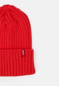 Levi's® - TURN UP BEANIE UNISEX - Beanie - medium red - 2