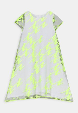 VESTITO - Cocktail dress / Party dress - giallo fluo