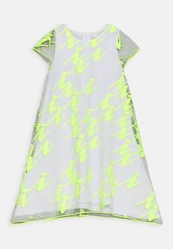 VESTITO - Cocktail dress / Party dress - giallo fluo