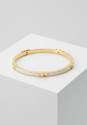 SERIF STACKABLE BRACELET - Bracciale - gold-coloured/optic white