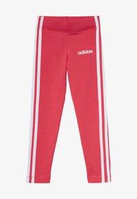 adidas Performance - UNISEX - Legging - core pink/white - 2