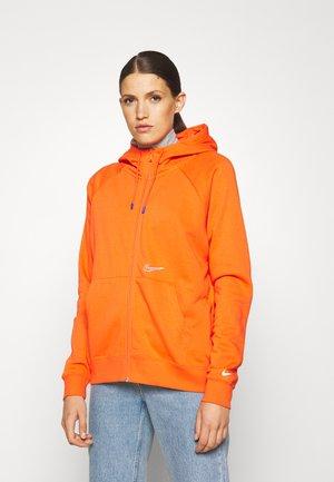 HOODIE  - Sweater met rits - orange