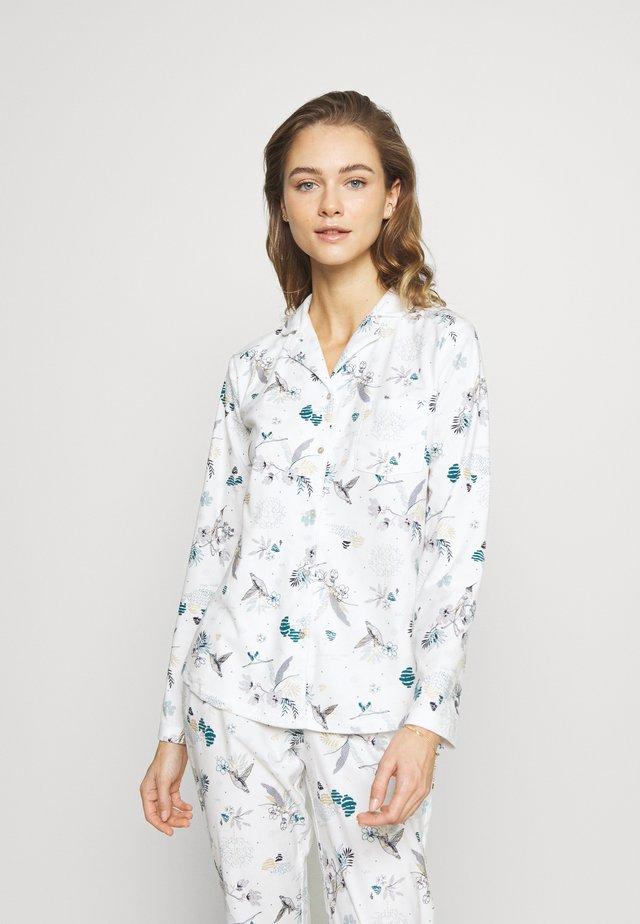 RICK CHEMISE - Pyjama top - ecru
