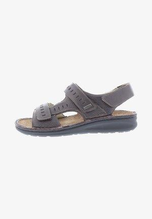 Sandals - dark brown
