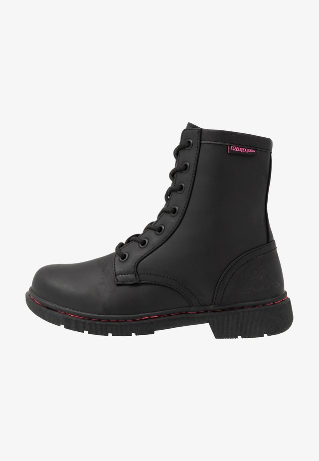 DEENISH - Hikingskor - black/pink