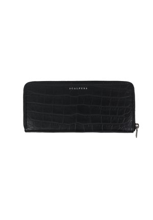WITH ENGRAVED CROCODILE - Wallet - black