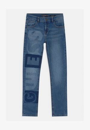 JUNIOR SLIM  - Vaqueros slim fit - blue denim