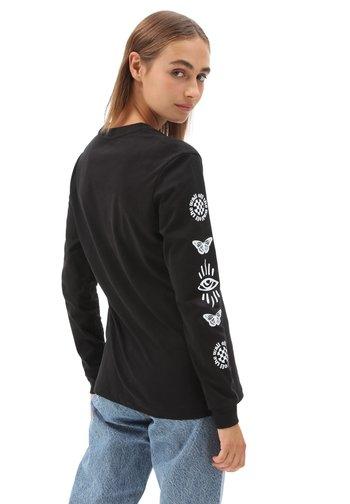 WM MASC ON - Long sleeved top - black