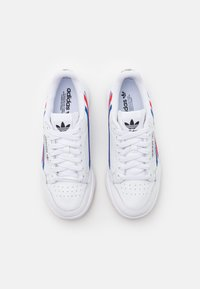 adidas Originals - CONTINENTAL 80 UNISEX - Trainers - footwear white/team royal blue/vivid red - 3