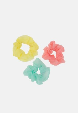 PCDITTY SCRUNCHIE 3 PACK - Hårstyling-accessories - yellow/mint/pink