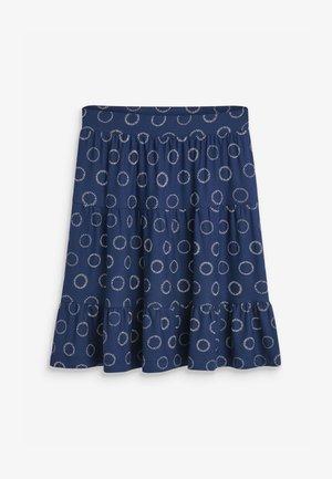 FLIPPY  - A-line skirt - blue