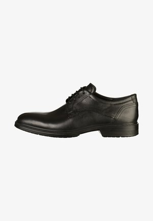 LISBON - Elegantní šněrovací boty - black