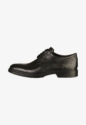 LISBON - Smart lace-ups - black