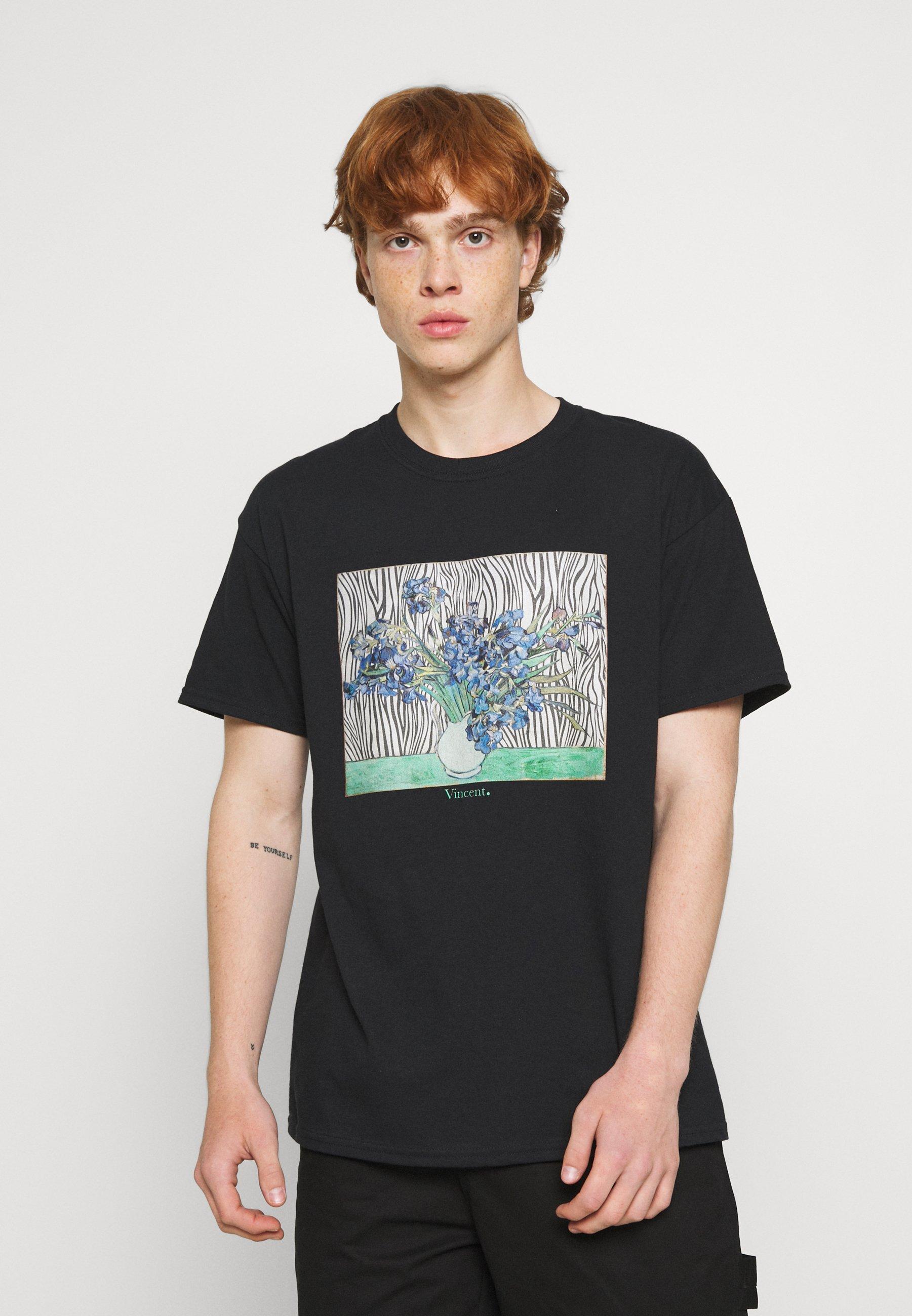 Men VINCENT ART PRINT TEE - Print T-shirt