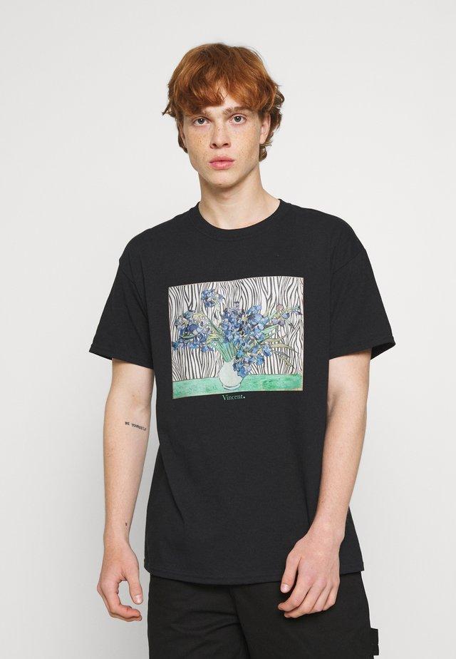 VINCENT ART PRINT TEE - T-shirt print - black