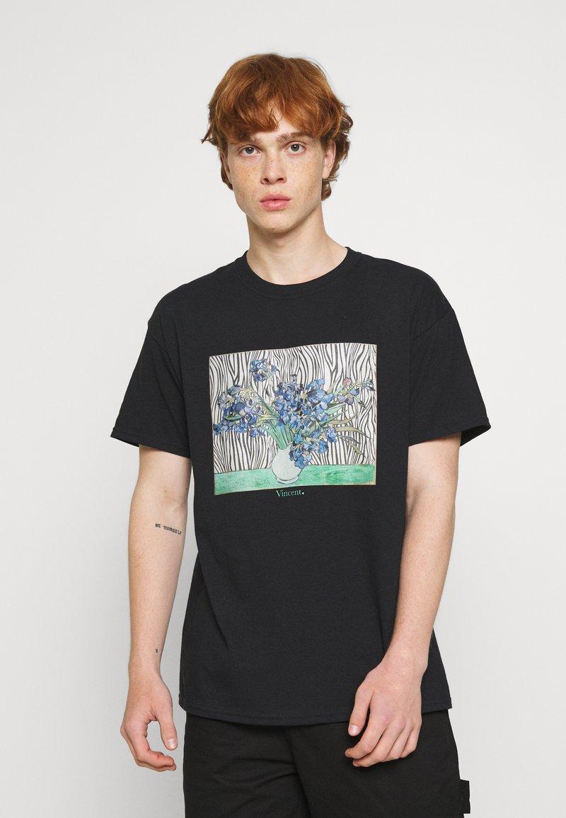 Vintage Supply - VINCENT ART PRINT TEE - Print T-shirt - black