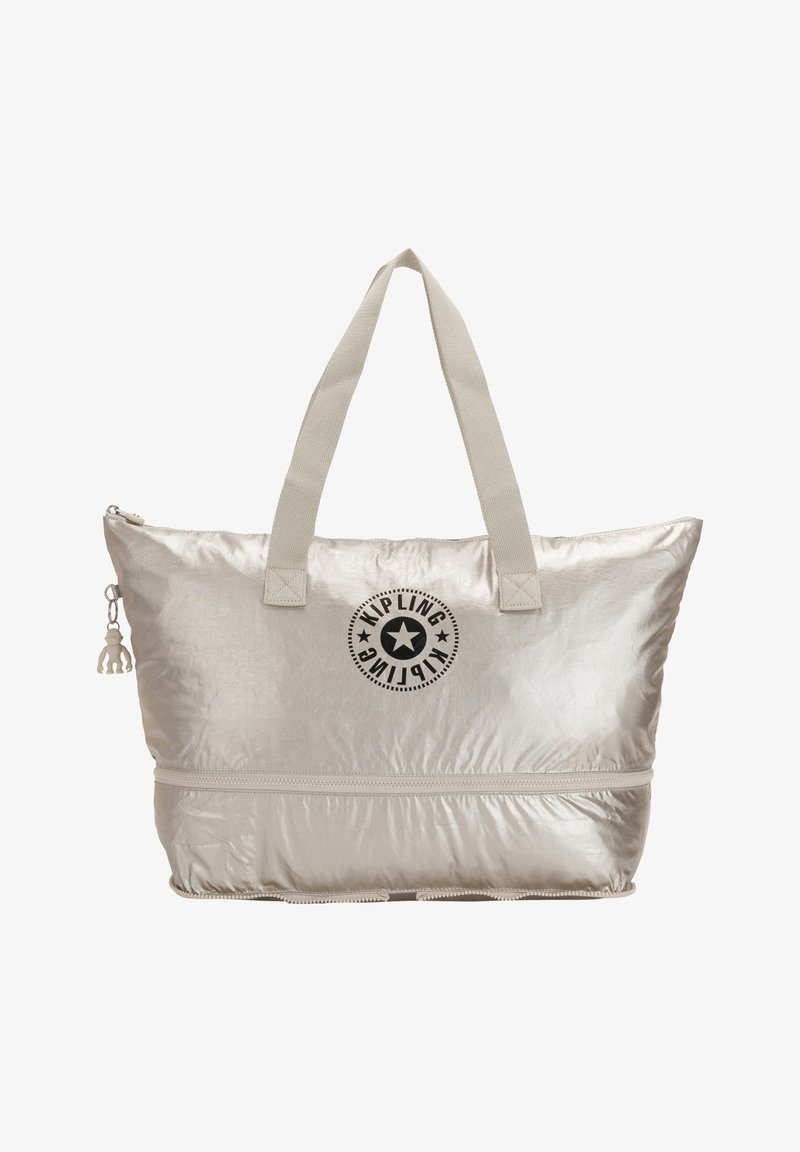Kipling - Tote bag - cloud metal