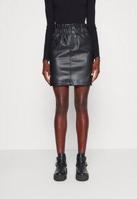 ONLY Tall - ONLMAIYA MIRI SKIRT - Mini skirt - black - 0