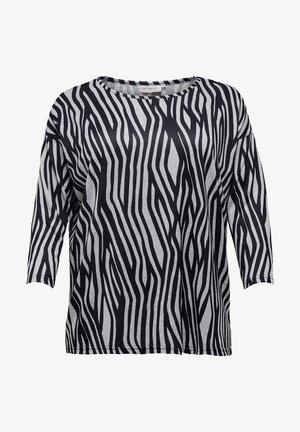 Langærmede T-shirts - light grey melange