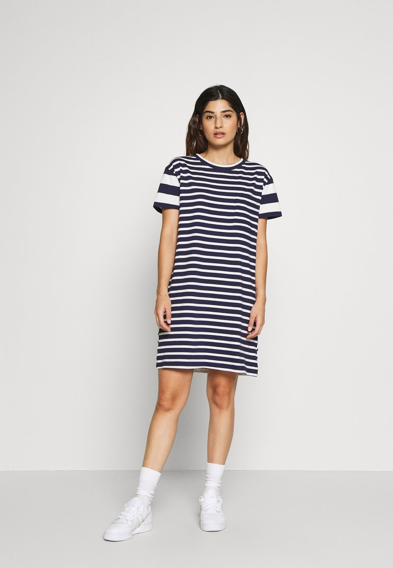 GAP Petite - Jersey dress - blue