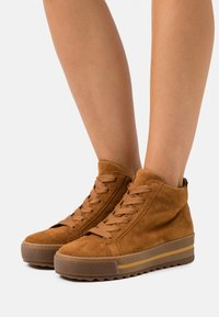 Gabor Comfort - Ankle boots - camel - 0