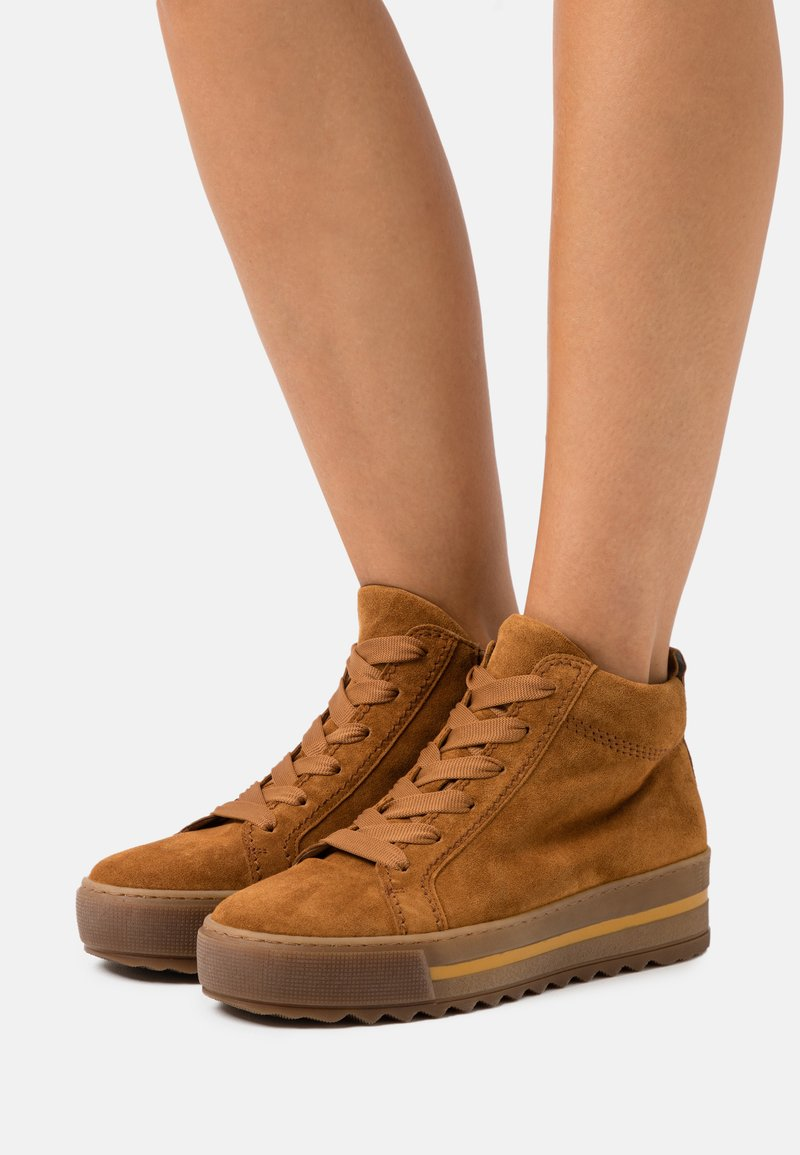 Gabor Comfort - Ankle boots - camel