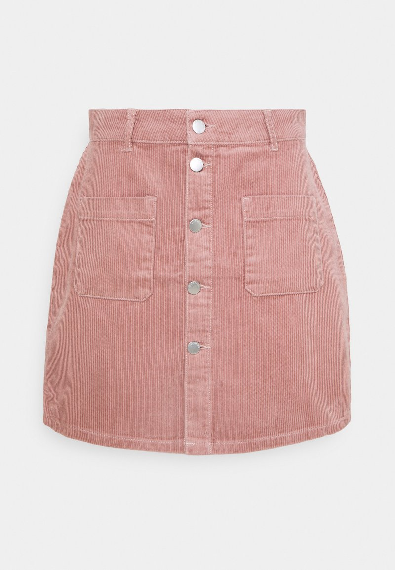 JDY - JDYSHIRAZ LIFE SHORT SKIRT - Mini skirt - woodrose