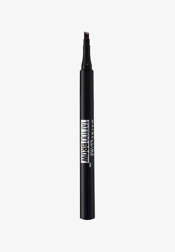 TATTOO BROW EYEBROW PENCIL - Eyebrow pencil - 120 medium brown