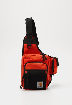 DELTA SHOULDER BAG UNISEX - Ledvinka - safety orange