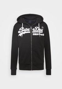 Superdry - ZIPHOOD - Zip-up hoodie - black - 4