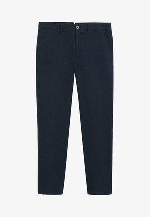 OYSTER - Trousers - marineblau