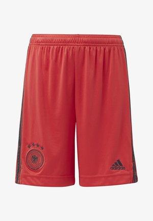 DEUTSCHLAND DFB TORWART HEIMSHORTS - Sportovní kraťasy - glory red