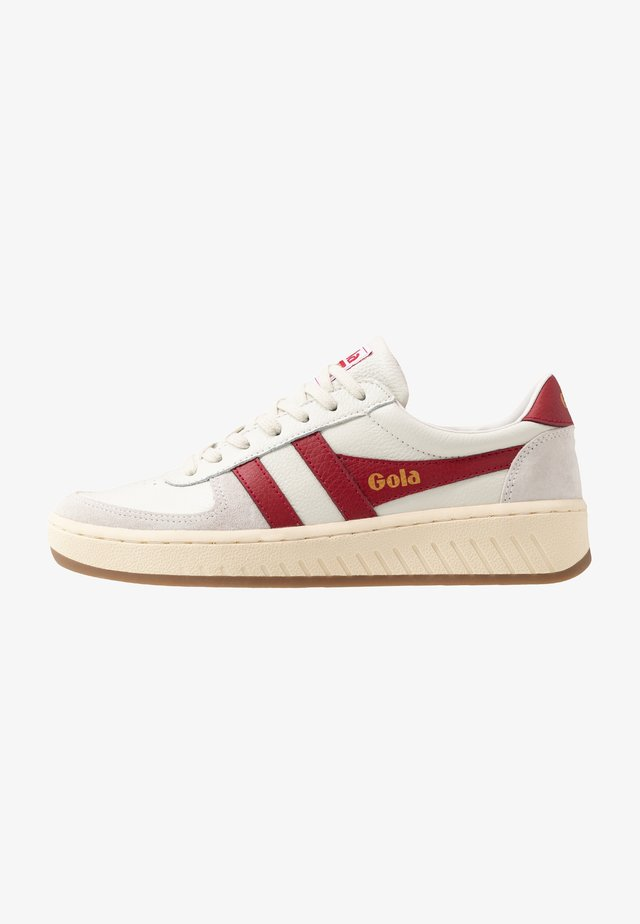 GRAND SLAM - Trainers - off white/red