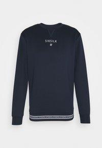 SIKSILK - ELEMENT CREW - Langærmede T-shirts - navy/white - 3