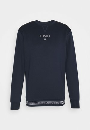 ELEMENT CREW - Longsleeve - navy/white