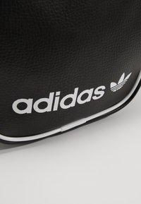 adidas Originals - MINI BAG VINT - Across body bag - black - 6