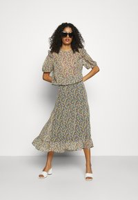 Lindex - SKIRT CLAUDIA - A-line skirt - black - 1