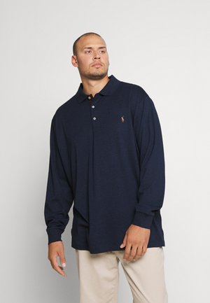 LONG SLEEVE - Polo shirt - spring navy heather