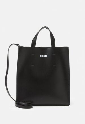 BORSA DONNA WOMAN`S BAG - Taška spříčným popruhem - black