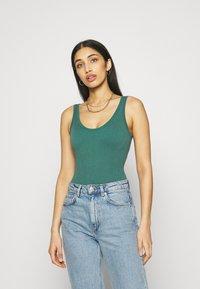 BDG Urban Outfitters - DREW SCOOP BODYSUIT - Top - teal - 0