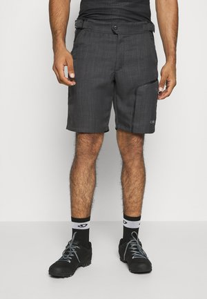 MAN FREE BIKE BERMUDA - Sports shorts - nero