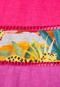 Farm Rio - RAINBOW MIXED TIERED MIDI SKIRT - A-line skirt - multi-coloured - 2