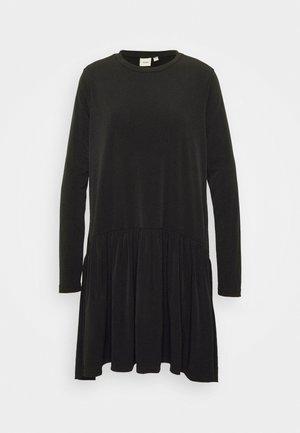 IXLIMA - Vestito di maglina - black