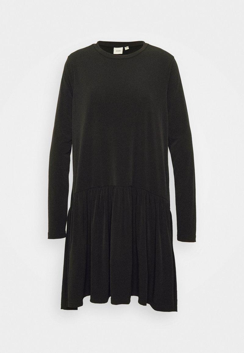 ICHI IXLIMA - Jerseykleid - black/schwarz PEMgoW
