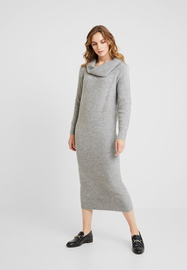 Vestito lungo - mid grey melange