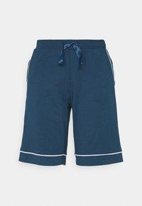 Schiesser - BERMUDA - Pyjama bottoms - petrol - 0
