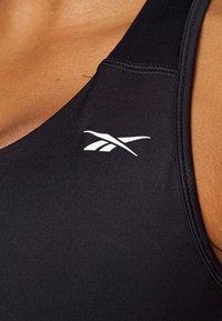 Reebok - REBRA - High support sports bra - night black - 4